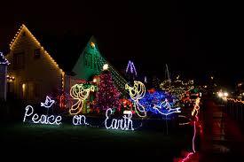 Portland Christmas Lights Christmas Lights Peacock Lane U2026 Peacock Faye C Cuneo