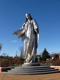Delaware traveling images Outta the way roadside giant steel virgin mary new castle delaware jpg