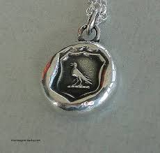 wax seal jewelry silver jewelry sterling silver wax seal jewelry unique knowledge
