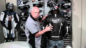 mc jacket berik seca 2 leather motorcycle jacket review youtube