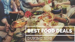 best food deals during sips philly pr