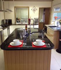 granite countertop oak effect kitchen worktops microwave user