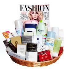 beauty gift baskets win fashion magazine s best beauty products canadian beauty