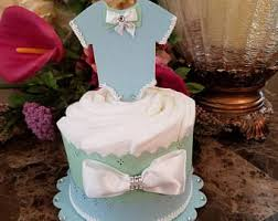 boys diaper cakes etsy
