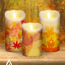 Electric Candles For Windows Decor Decor Flameless Candles With Timer For Create Relaxing Atmosphere