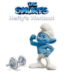 the smurfs image the smurfs hefty u0027s workout jpg smurfs wiki fandom