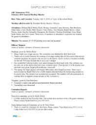 sample meeting notes expin memberpro co