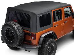 4 door jeep wrangler top barricade wrangler replacement top w tinted windows black