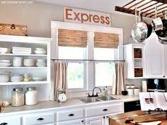 Bamboo Kitchen Curtains Eclectic House Tour Farmhouse Kitchen Rustic Cutting Boards