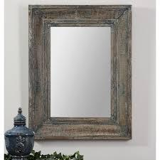 Uttermost Mirrors Free Shipping Uttermost Ogden Blue Beveled Mirror 26w X 36h In Hayneedle