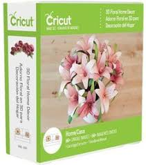 3d floral home decor cricut cartridge vase of flowers make it