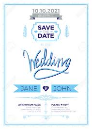 You Are Invited Card Vintage Wedding Invitation Card A5 Template With Bleed Area