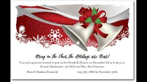 Invitation Card For Christmas Christmas Invitations Youtube