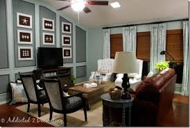 update wood paneling family room makeover a dark wood paneled room gets an update