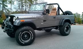 jeep honcho lifted 1981 cj8 scrambler golden eagle this kind of reminds me of