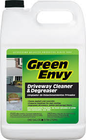 Patio Degreaser Sunnyside Green Envy Driveway Cleaner U0026 Degreaser 1 Gal At Menards
