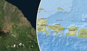 earthquake bali 2017 bali volcano update earthquakes strike near mount agung world