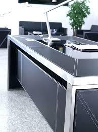 grand bureau design grand bureau noir socialfuzz me