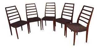 svegard markaryd swedish rosewood dining chairs set of 5 chairish