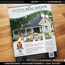 better real estate flyer template by designfathoms on deviantart
