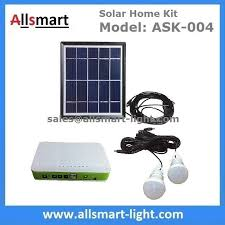 Solar Home Lighting System - dc indoor solar home lighting system kit with 2 bulbs 5m wire