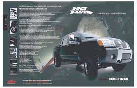 nissan titan quick lift no fear lift kit package now available from dsi nissan titan forum