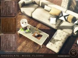 pralinesims chocolate wood floors