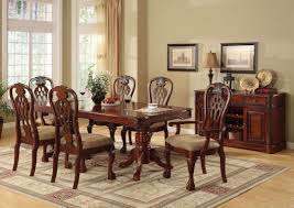 Dining Room Furniture Center Merlot 11 Piece Formal Dining Room Furniture Set Table 8