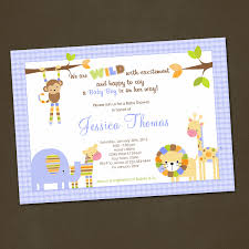 photo lion king baby shower invitations image
