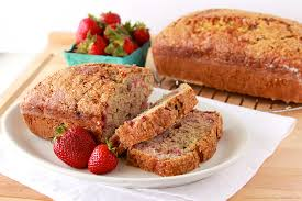 strawberry banana bread and kitchen aid giveaway cooking with ruthie