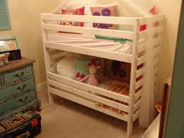Crib Bunk Beds Toddler Bunk Bed Only 48 And Designed To Use Crib Mattresses