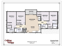 Park Central Floor Plan Central Park Apartment In Tuscaloosa Al