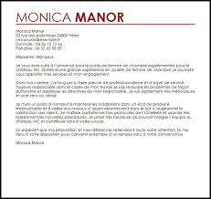 lettre de motivation hotellerie femme de chambre exemple lettre de motivation femme de chambre livecareer lettre de