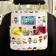 si e enfant pour v o auto banquette arrière de voiture organisateur téléphone porte bébé