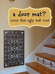 How To Make A Decorative - use doormats and spray paint to make a decorative vent or