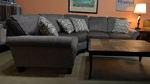 flexsteel sectional sofa flexsteel sectional sofa bonners furniture