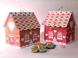 cookie gift boxes gingerbread house cookie gift box printable templates