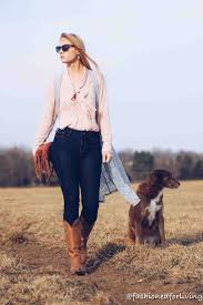 fashioned for living spring cowgirl boots western chic style