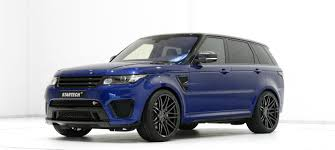 land rover back range rover sport svr tuning startech refinement