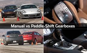 manual vs paddle shift gearboxes