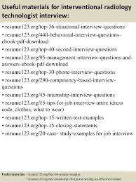radiologic technologist resume skills top 8 interventional radiology technologist resume samples