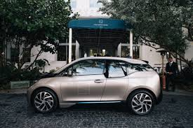 Bmw I3 In Front Of The Soho Beach House In Miami Bmw Of North