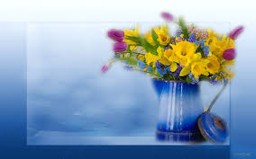 Pretty Vase Flower Vase Bouquet Yellow Flowers Spring Green Pretty Nature