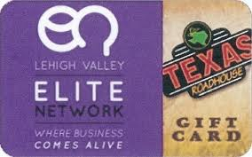 branded gift cards lehigh valley elite network event at roadhouse allentown