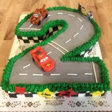 number shaped cars the movie cake u2014 trefzger u0027s bakery
