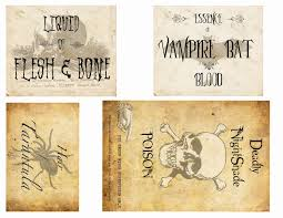 Printable Halloween Labels by Best 25 Halloween Apothecary Labels Ideas On Pinterest Diy