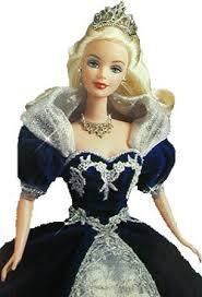 1999 millennium princess barbie 1999 holiday barbie