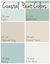 paint colors coastal paint colors the lilypad cottage