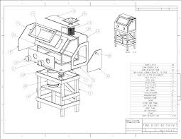 Used Blast Cabinet Popular Mechanics Plans Homemade Sandblasting Cabinet Blueprints
