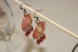 earrings paper paper earrings tally s treasury